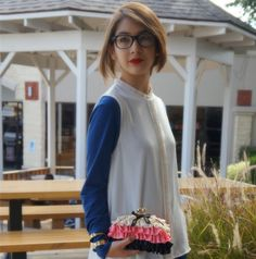 A @Rose Athena dress and @LeSportsac x @manoush_fashion bag modeled by Paulina in The Haute Muslimah