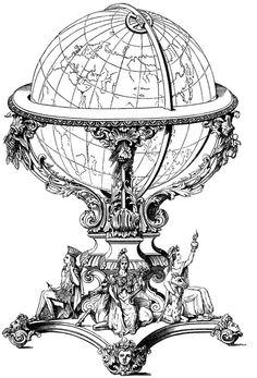globe tattoo - Google Search