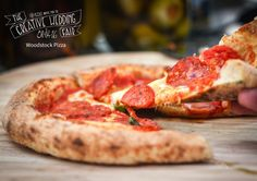 Woodstock Pizza - The Creative Wedding Fair by Etsy Manchester - Artisan Pizza - Food Truck - Pizza Truck