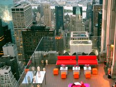 "Say I Do 70 stories above New York's Fifth Avenue with crystal clear 360 degree views of Manhattan. Have the Empire State Building as your backdrop as you exchange your vows at this stunning location - top of the ""Rock"", The Rockefeller Center"