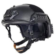 ATAirsoft Adjustable Maritime Helmet ABS Black $67.25