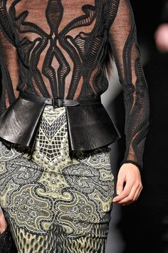 Details,  Etro,  Runway,  Fall,  Black,  Sheer