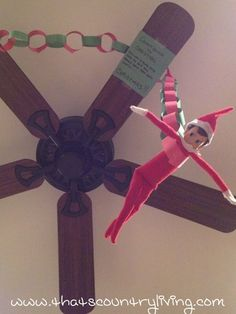 Elf on a Shelf - Antic: The Christmas Countdown has begun @Michelle Flynn Flynn Flynn Dodenbier , @Nichole Radman Radman Radman Hind, @Heather Creswell Creswell Creswell Wade Jensen