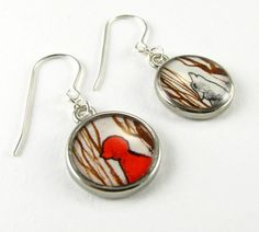 little red riding hood earrings....I like these so much I would almost wear them!!