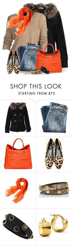 """Animal Print & Orange for Fall"" by tufootballmom ❤ liked on Polyvore featuring Rare London, Diesel, Burberry, Dolce&Gabbana, Reed Krakoff, Tory Burch and Blue Nile"