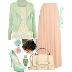 Beautiful, created by modestlyme97 on Polyvore
