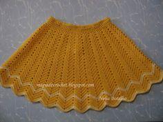 Magic Crochet: crochet skirt for girls