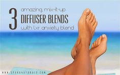 3 AMAZING, mix-it-up diffuser blends with LXR anxiety blend! | Spark Naturals #essentialoil