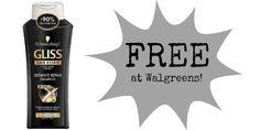 FREE Schwarzkopf Hair Products at Walgreens!