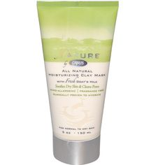 moisturizing clay mask gently treats dry skin and clogged pores