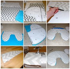 DIY Boppy Cover! I need a new gender neutral one before baby comes along...