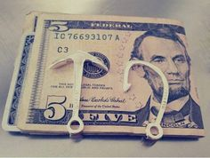 Anchor and Hook Money Clip
