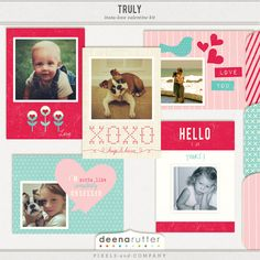 printable instagram valentines by Deena Rutter