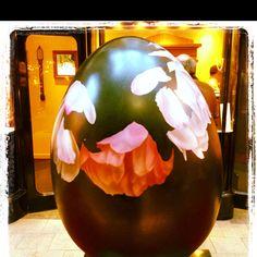Flowery egg