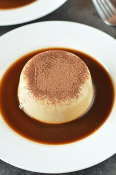 How to make Tiramisu Panna Cotta, creamy and delicious no-bake panna cotta made with agar-agar. A perfect dessert for father's day or your next party.