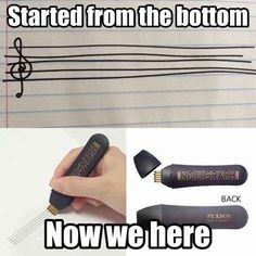 Staff 16 Words That Mean Something Totally Different To Musicians Music Jokes, Funny Music, Marching Band Memes, Band Jokes, Band Nerd, A Silent Voice, Music Theory, Music Stuff, Music Things