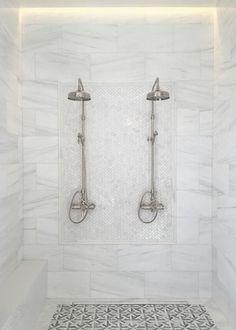 marble basketweave floor white subway tile bathroom bathroom remodel ideas pinterest white. Black Bedroom Furniture Sets. Home Design Ideas