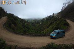 Conoce la laguna Quilotoa, situada en el interior  del cráter de un volcán, en Ecuador. Te llevamos hasta ahí en furgoneta.