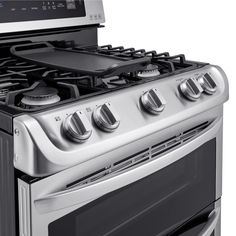 charming ideas double ovens lowes. Create restaurant quality dishes at home using this LG Electronics Double  Oven Gas Range with ProBake Convection in Stainless Steel My Whirlpool slide gas range This is one sophisticated
