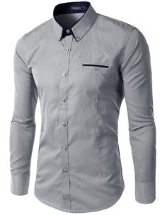 Gender: Men Item Type: Shirts Pattern Type: Solid Sleeve Style: Regular Style: formal Closure Type: Single Breasted Fabric Type: Broadcloth Material: Cotton Material: Polyester Collar: Turn-down Colla