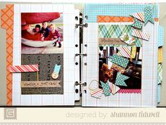 Awesome Basic Grey mini album by the beautiful and talented, Shannon Tidwell. She rocks!