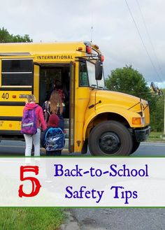 5 Back-to-School Safety Tips #tips #backtoschool