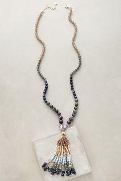 Anthropologie Isemene Tassel Necklace