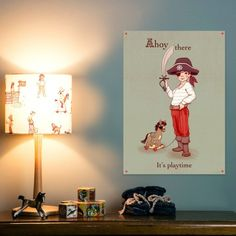 Ahoy There Poster - Belle & Boo