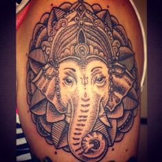 Dotwork Ganesh #Ganesh #tattooing #tattooist #tattoo #elephant #god #Buddhist #Buddha #Buddhism #mandala #dotwork #dots #blackwork #crown #art #artist #eternal #ink. #sacredgeometry #sacred #geometry