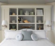 bookcase for headboard