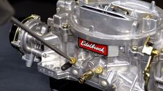 Carburetor adjustment errors can affect the entire engine. Here's how to tune your Edelbrock carburetor. Truck Repair, Engine Repair, Car Engine, Engine Rebuild, Chevy C10, Chevy Trucks, Pickup Trucks, Lifted Chevy, Chevy Nova