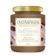 Pasta de Castanhas e Cacau Castanharia.