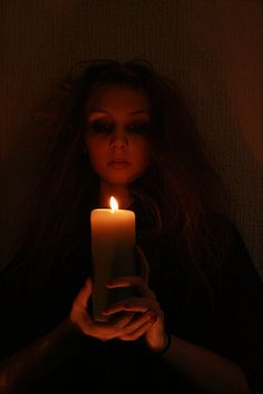 Witch And Candle. This scares the daylights out of me!!!