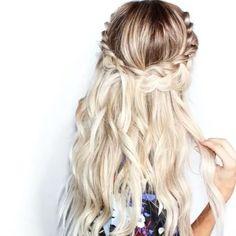 Summer Waves. Loving this blonde look!