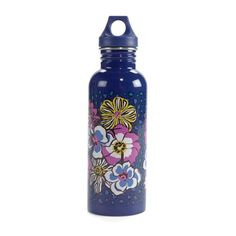 "25 oz. Water Bottle, $18 | Pin your perfect space in our #MySuiteSetupSweepstakes!  How to enter: 1. Click through to fill out the form. 2. Follow @verabradley on Pinterest. 3. Create a board titled ""My Suite Setup Sweepstakes"" and start pinning with inspiration from our Inspiration board. Include #MySuiteSetupSweepstakes in the caption of each pin. http://sweeps.piqora.com/mysuitesetupsweepstakes"