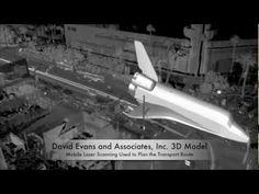 Space Shuttle Endeavour LA Move - 3D Laser Scanning