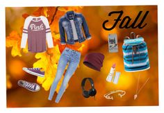 """Fall"" by eliana-schaer83 ❤ liked on Polyvore featuring G-Star, Converse, Mudd, Pamela Love, Aéropostale, HoneyBee Gardens, Skullcandy, maurices, women's clothing and women"