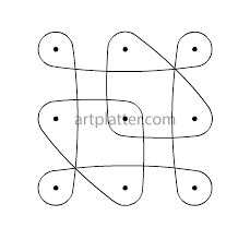 Image result for apartment kolangal with dots