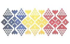 Imagini pentru traditional romanesc Baby Tattoos, Arm Tattoo, Banner Design, Tatting, Diy And Crafts, Cross Stitch, Arms, Ink, Quilts