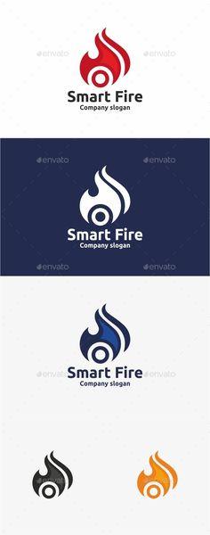 Smart Fire Logo Template - Symbols Logo Templates
