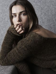 Andreea Diaconu for Isabel Marant Pre-Fall 14/15 lookbook by Josh Olins
