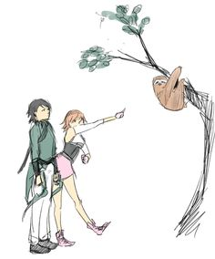 Lie Ren and Nora Valkyrie by nomty.deviantart.com on @deviantART