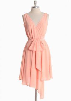 Harmony Dress By BB Dakota In Peach