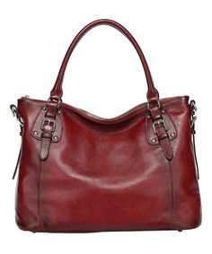 Look what I found on #zulily! Red Ryder Leather Tote by Vicenzo Leather #zulilyfinds