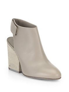 Vince Ingrid Leather Ankle Boots