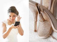#Ehering auf dem #Schuh der #Braut • Ring on the shoe of the bride