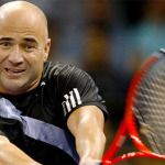 Andre Agassi shockingly uncomfortable on IPTL debut