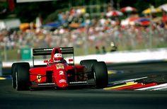 Nigel Mansell, Ferrari 641, 1990 French Grand Prix
