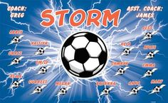 Storm-154324  digitally printed vinyl soccer sports team banner. Made in the USA and shipped fast by BannersUSA. www.bannersusa.com