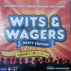 Wits & Wagers Party Edition (2013) - New - Toys & Games FAMILY BOARD GAME NIGHT #DOMINICCRAPUCHETTES